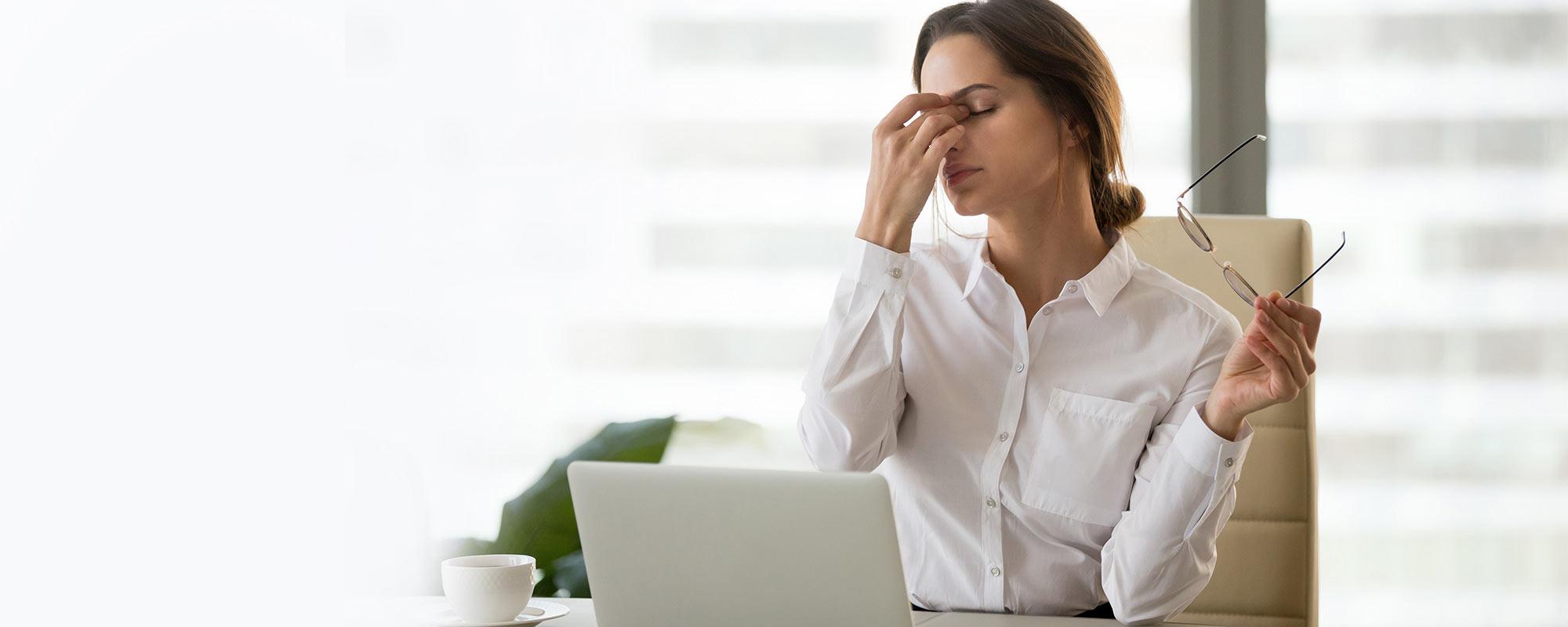 <span>70% osób z migreną</span>